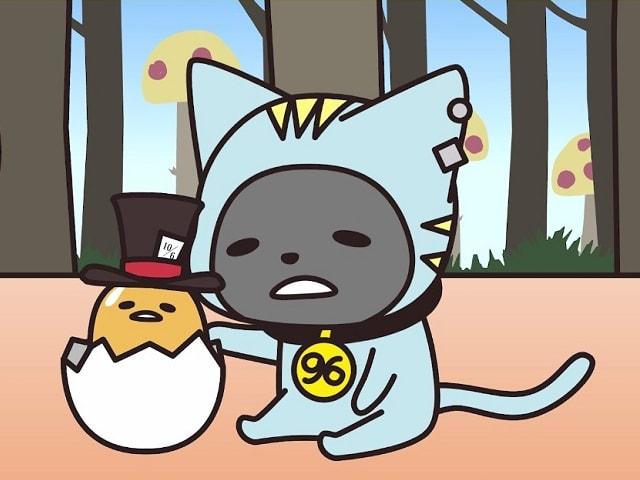 96猫(くろねこ)×ぐでたまがコラボしたミュージックビデオが公開