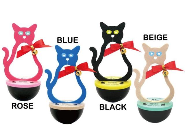 猫のドアストッパー「ネコストッパー」がデザインをリニューアル