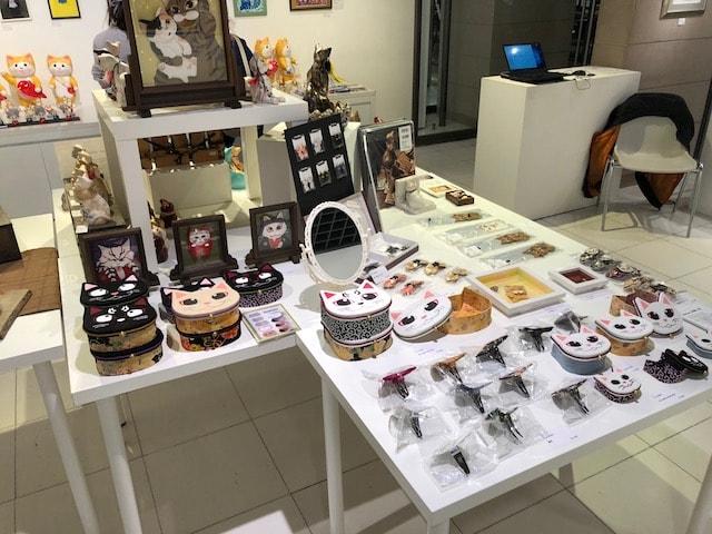 パリ・NEKO・コレクションの猫雑貨販売イメージ