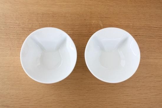 ECRU(エクリュ)の食器「ねこスープボール」にスープを注ぐ前の状態