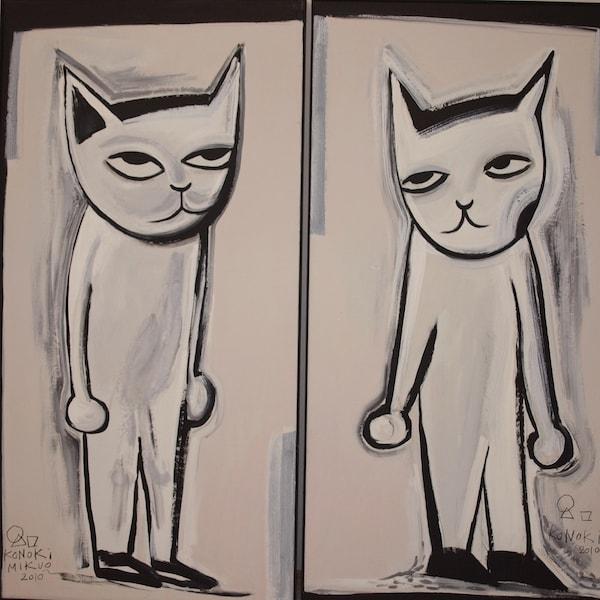猫のイラストアート作品 by 猫ねこ展覧会2018