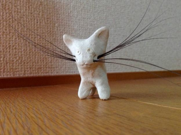 猫のヒゲを挿して楽しむ、ねこひげスタンド