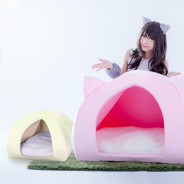一般的な猫ハウスの6倍の大きさもある「人間用ペットハウス」