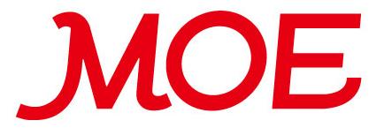 絵本月刊誌「MOE」のロゴ