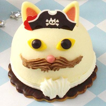 ユーハイム・ディー・マイスター、夏の新作ケーキ「ネコ船長」