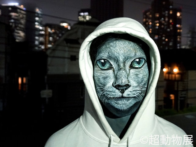 まるで本物の猫人間!?チョーヒカルの作品展「超動物展」が始まるニャ