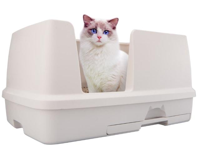 広さが2倍!大型の猫用システムトイレ「デオトイレ 快適ワイド」