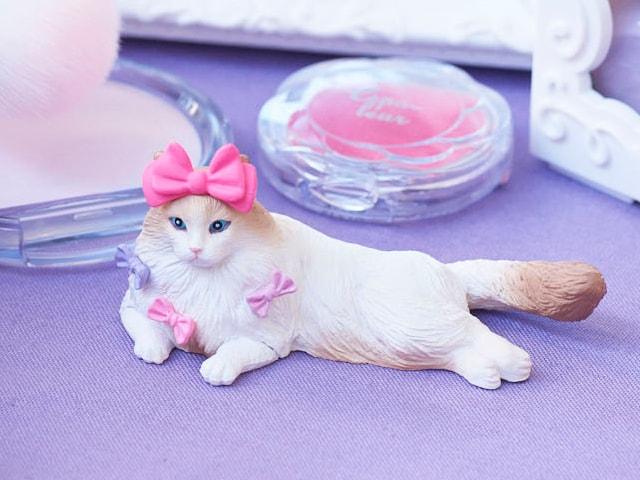 6種類の可愛いネコが登場!オシャレなペットフィギュア「FANCY PETS」第3弾