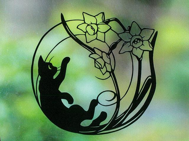 1年中楽しめる!猫好きのための切り絵本第2弾「12か月のねこ切り絵」