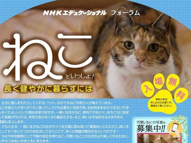 愛猫との健やかな暮らし方を考える「ねこフォーラム」が6/10に開催。服部幸獣医師やロバートキャンベル氏らが登場