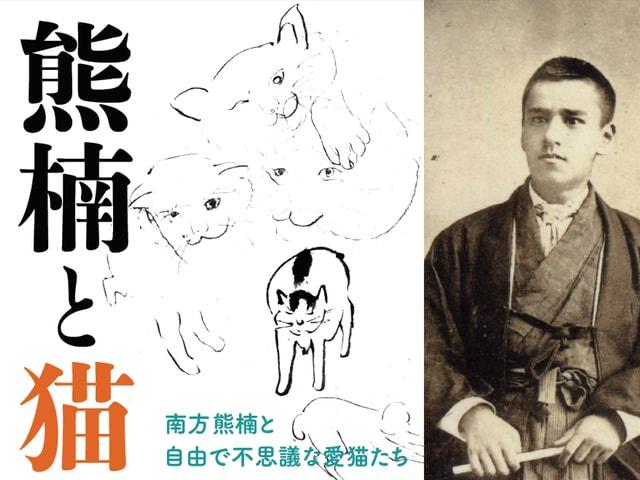 ネコ好きな天才学者・南方熊楠の企画展「熊楠と猫」が6/5〜開催
