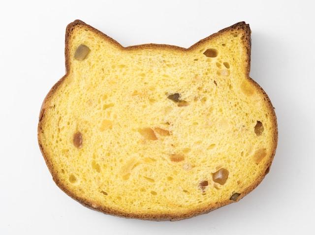 いろねこ食パン+(マンゴー&フルーツミックス)
