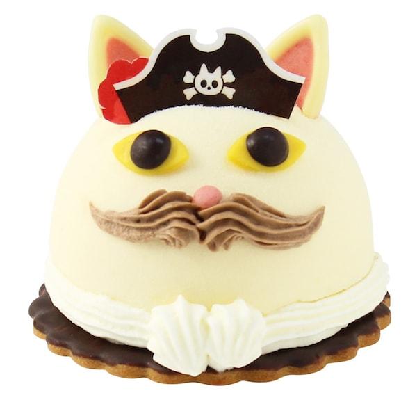 ユーハイムのケーキ「ネコの船長」