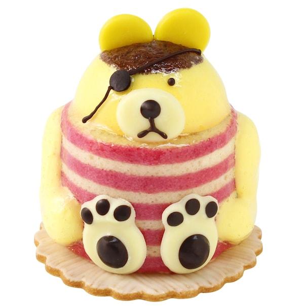 ユーハイムのケーキ「クマの海賊」