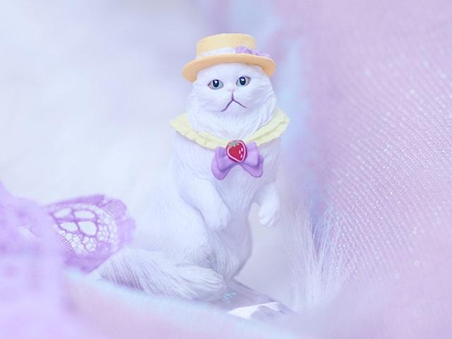 猫フィギュア「Mary's Favorite cat」、ラグドールのシピちゃん(ズーム)