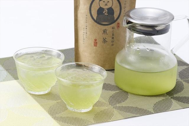 日本茶「ねこ茶商」を淹れたイメージ