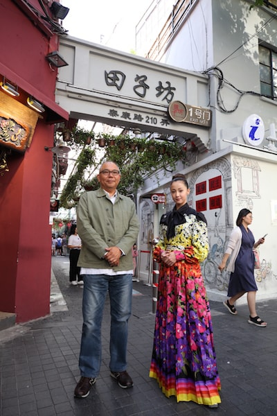 上海国際映画祭の会場に登場した沢尻エリカ&犬童一心監督