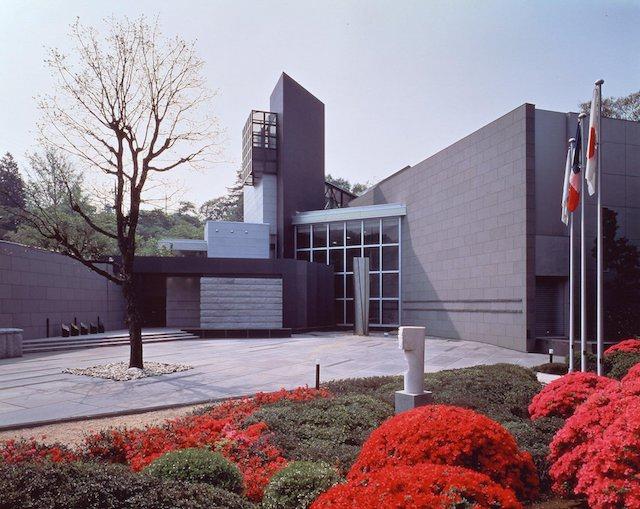 笠間日動美術館 企画展示館の外観写真