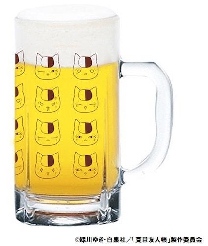 ニャンコ先生のジョッキグラス