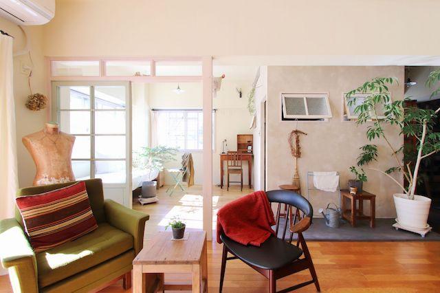 お気に入りの家具と暮らす家 リノベーション事例