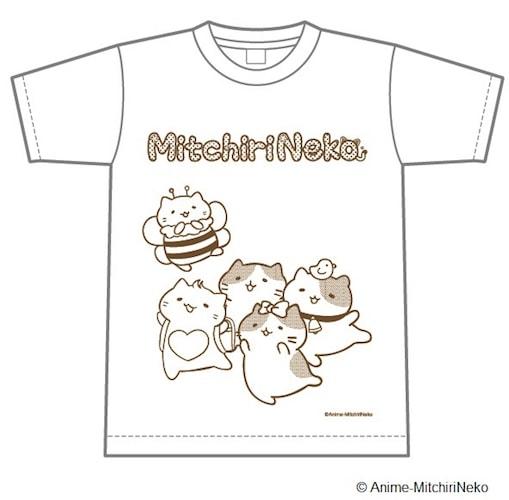 みっちりねこのTシャツ