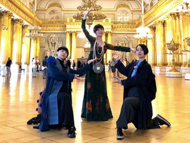 椎名林檎ら3名の猫娘がロシアを訪れる旅番組「猫にまた旅」6/30にNHKで放送