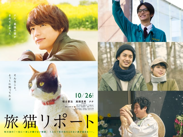 映画「旅猫リポート」に大野拓朗や広瀬アリスら追加キャストが発表