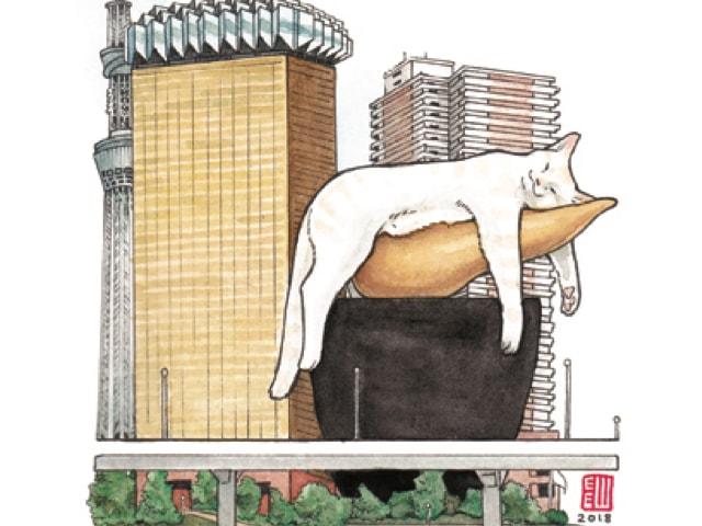 珈琲を飲みながら猫アート鑑賞♪ 20名の作家による「ねこ展」6/26から開催