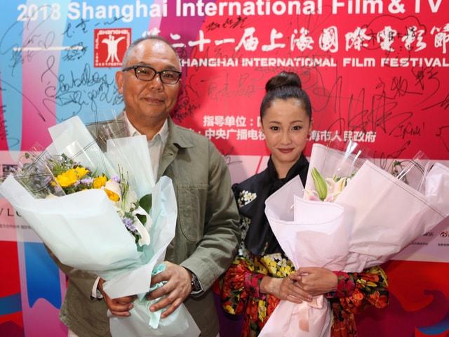 映画「猫は抱くもの」沢尻エリカが上海国際映画祭に参加した様子を公開