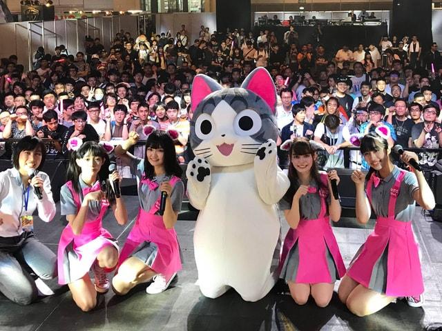 猫アニメ「こねこのチー」がジャパンエキスポ2018のオフィシャルレポーターに就任
