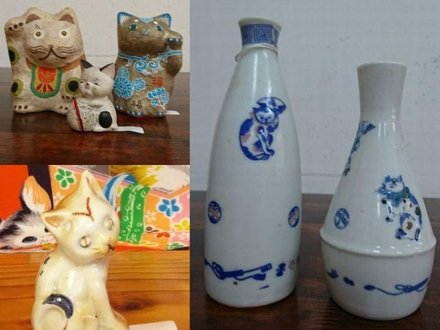 高円寺の骨董屋さん「呂芸」で猫に関する作品の展示・販売が開催中