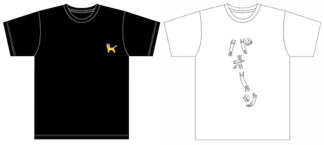 江戸ねこ茶屋のオリジナルTシャツ