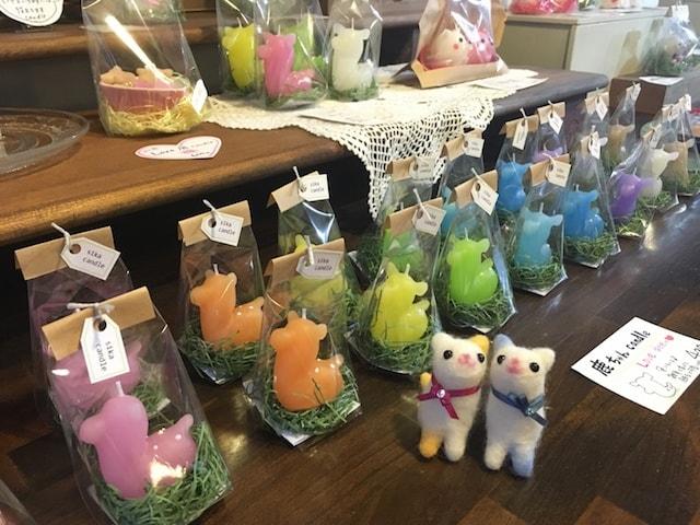 「canata conata(キャンドル屋)」 by にゃらまち猫祭りの出展店舗
