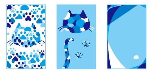 猫や肉球の壁紙1 by しゅうニャン市