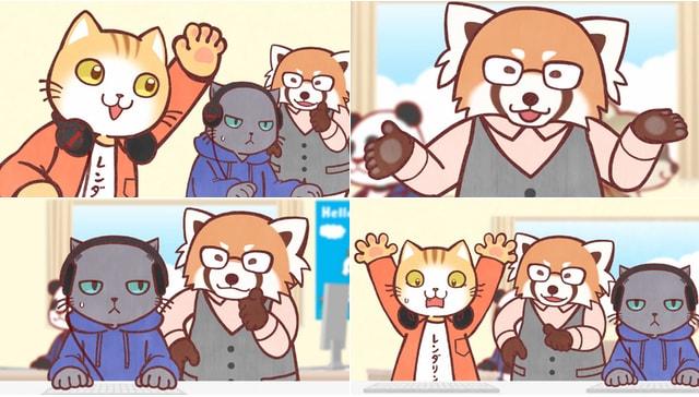 TVアニメ「働くお兄さん!」第2期1話の放送シーン