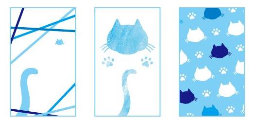 猫や肉球の壁紙3 by しゅうニャン市