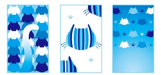 猫や肉球の壁紙4 by しゅうニャン市