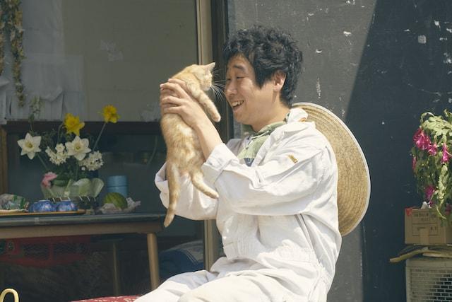映画「旅猫リポート」で主人公の中学時代の友人役を演じる前野朋哉
