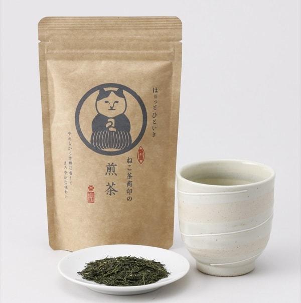 ねこ茶商、煎茶の商品イメージ
