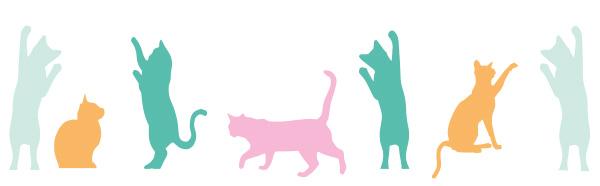ブルーベル・ジャパンのフレグランスカウンターに隠れているピンクのネコ
