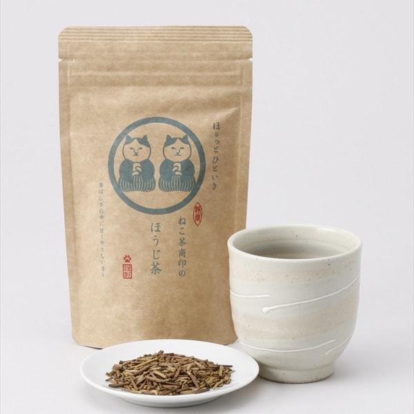 ねこ茶商、ほうじ茶の商品イメージ