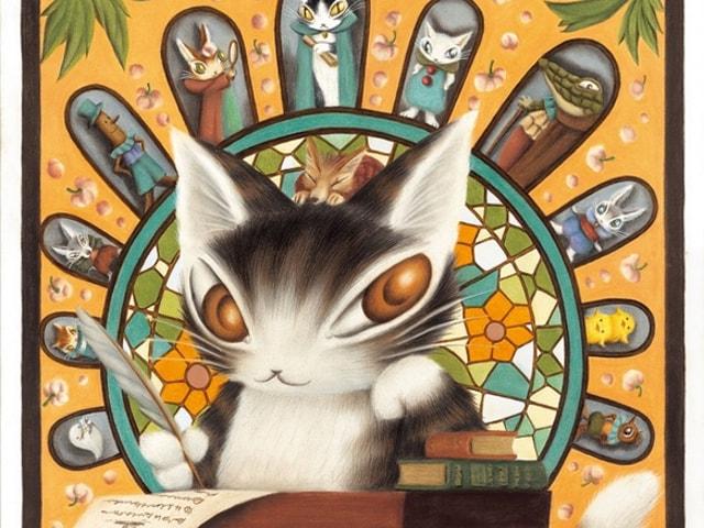猫のダヤンの世界を体感できる展覧会「池田あきこ原画展」松屋銀座で開催