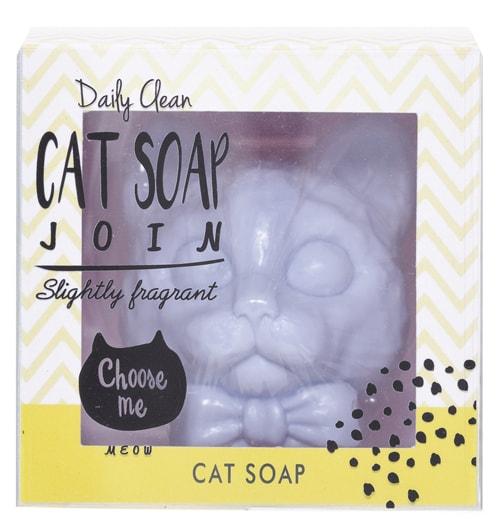 猫のフレグランスソープ「CAT SOAP」 スウィートジャスミンの香り