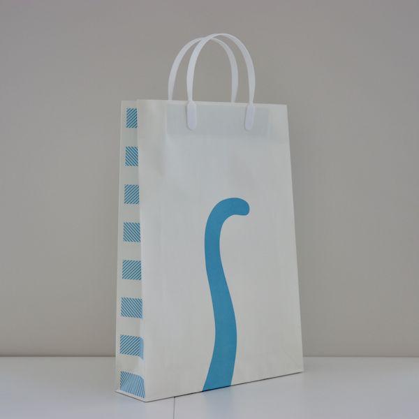 しゅうニャン手提げ紙袋(側面&背面イメージ)