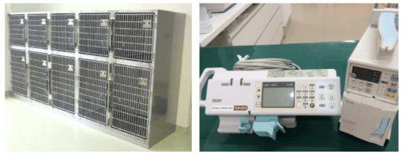 動物病院に導入予定の医療機器