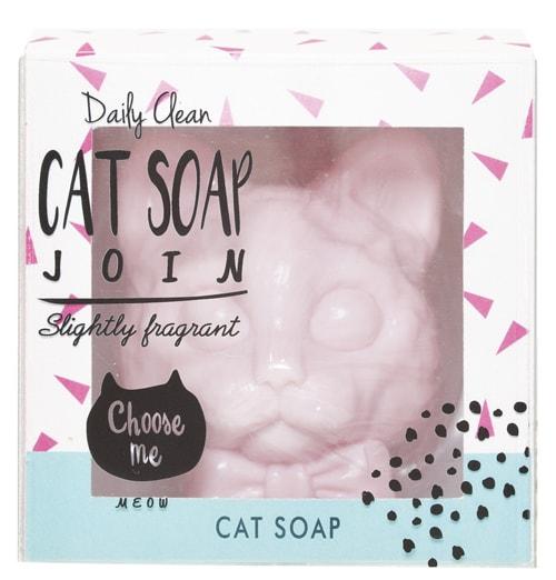 猫のフレグランスソープ「CAT SOAP」 フローラルの香り「ペールフルーレ」バージョン