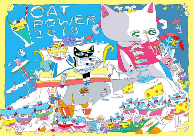 CAT POWER 2018公式DM by 影山紗和子