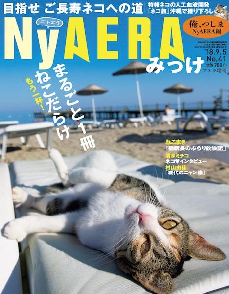 雑誌「NyAERA(ニャエラ)みっけ」の表紙イメージ
