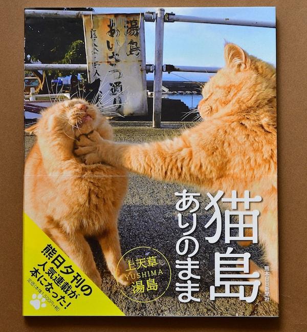 写真集「猫島ありのまま 上天草・湯島」の表紙