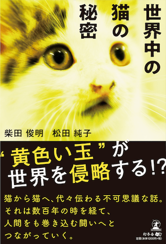 SF小説「世界中の猫の秘密」の表紙